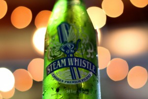 Foto para e-commerce Cerveja Steam Whistle