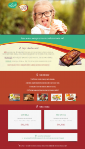 One -site-page Omanhe no lanche
