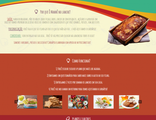 Site: Ô Manhê! No Lanche