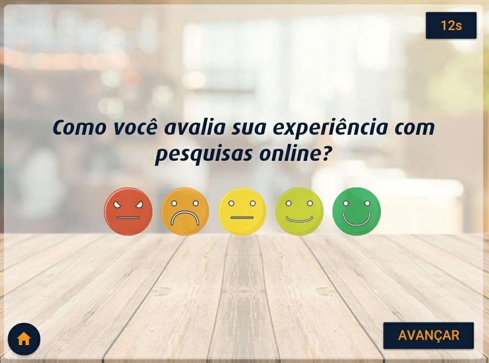 itore o nível de satisfação dos seus clientes no PDV e aumente o engajamento de seus clientes!